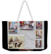 Scenes Of Paris For Sale Weekender Tote Bag