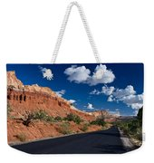 Scenic Drive Through Capitol Reef National Park Weekender Tote Bag