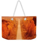 Scenic Highway Weekender Tote Bag