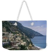 Scenic View Of The Beach And Hillside Weekender Tote Bag