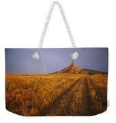 Scenic View Of Western Nebraska Weekender Tote Bag