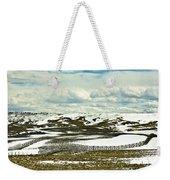 Scenic Wyoming Weekender Tote Bag
