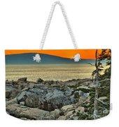 Schoodic Sunset Weekender Tote Bag