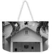 School House In Black And White Weekender Tote Bag