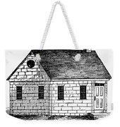 Schoolhouse, 18th Century Weekender Tote Bag
