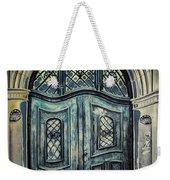 Schoolhouse Entrance Weekender Tote Bag by Jutta Maria Pusl