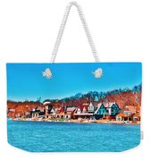 Schuylkill Navy Boat House Row Weekender Tote Bag