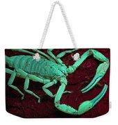 Scorpion Glows In Uv Light Costa Rica Weekender Tote Bag