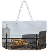 Scrapyard Machinery Weekender Tote Bag