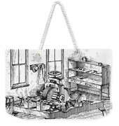 Screw-making Machine Weekender Tote Bag