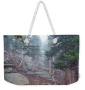 Scripture And Picture Psalm 48 14 Weekender Tote Bag