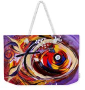 Scripture Fish Weekender Tote Bag