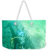 Scuba Diving Weekender Tote Bag