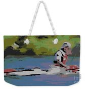 Sculling For The Win Weekender Tote Bag