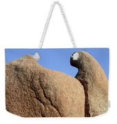Sculpted Rock Weekender Tote Bag