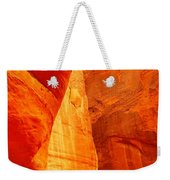 Sculptured By The Wind Weekender Tote Bag