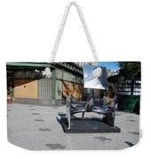 Sculptures On The Corner Weekender Tote Bag