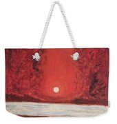Sea And Moon Weekender Tote Bag