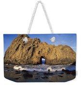 Sea Arch At Pfeiffer Beach Big Sur Weekender Tote Bag