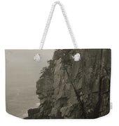 Sea Cliff At Quoddy Head  Weekender Tote Bag
