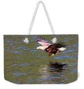 Sea Eagle's Water Landing Weekender Tote Bag