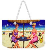 Sea For Two - Girlfriends At Beach Weekender Tote Bag