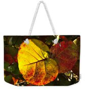 Sea Grape Leaves Weekender Tote Bag