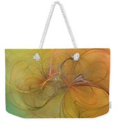 Sea Grass Sunset Weekender Tote Bag by Betsy Knapp