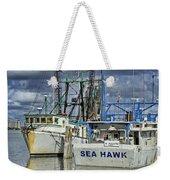 Sea Hawk Under Cover Weekender Tote Bag