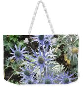 Sea Holly Weekender Tote Bag