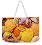 Sea Horse Starfish And Seashells  Weekender Tote Bag