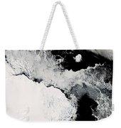 Sea Ice In The Southern Ocean Weekender Tote Bag