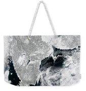 Sea Ice Lines The Coasts Of Sweden Weekender Tote Bag