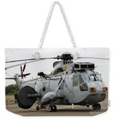 Sea King Helicopter Of The Royal Navy Weekender Tote Bag by Luc De Jaeger