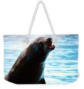 Sea-lion Weekender Tote Bag