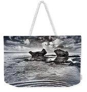 Sea Ripples Weekender Tote Bag