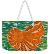 Sea Shell Weekender Tote Bag