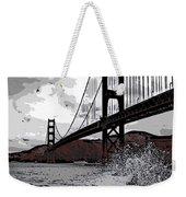 Sea Spray Under The Golden Gate Bridge Weekender Tote Bag