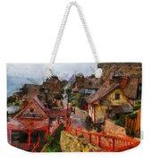 Sea Town Weekender Tote Bag
