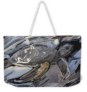 Sea Turtle At Risk Weekender Tote Bag