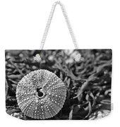 Sea Urchin On Seaweed Weekender Tote Bag by David Rucker