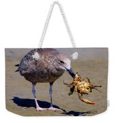 Seafood For Lunch Weekender Tote Bag