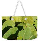 Seagrape Leaf Layer Weekender Tote Bag