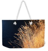 Seagrass In Gold Weekender Tote Bag