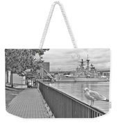 Seagull At The Naval And Military Park Weekender Tote Bag