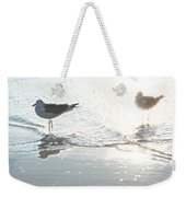 Seagulls In A Shimmer Weekender Tote Bag