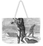 Seal Hunting, 1867 Weekender Tote Bag
