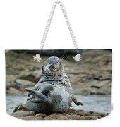 Seal Stretch Weekender Tote Bag