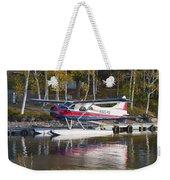 Seaplane On Moosehead Lake In Maine Canvas Photo Poster Print Weekender Tote Bag