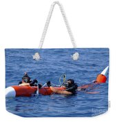 Search And Rescue Swimmers Retrieve Weekender Tote Bag